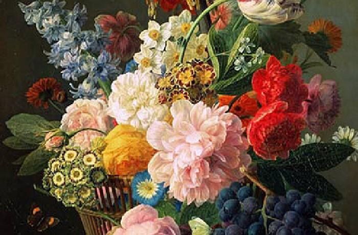 Fiori riproduzioni e dipinti di questa collezione for Vasi di fiori dipinti