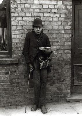 Match-Seller. c.1900 (b/w photo)