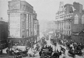 View of Tottenham Court Road, c.1885 (b/w photo)