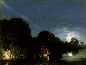 The flight to Egypt