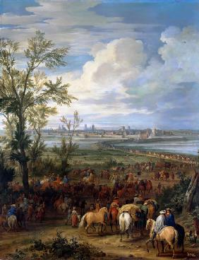 The Siege of Ypres, March 1678