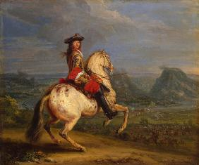 Louis XIV at the Taking of Besançon