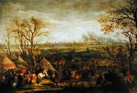 The Taking of Cambrai in 1677 by Louis XIV (1638-1715)