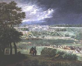 Chateau-Neuf de St. Germain-en-Laye in 1655