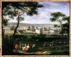 View of the Chateau de Vincennes