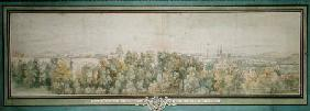 View of Paris from the Gobelins Workshop