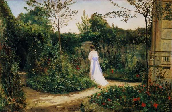 The walk in the garden