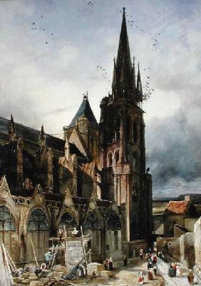 Restoring the Abbey Church of St. Denis in 1833