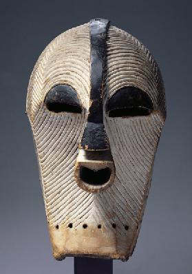 Kifwebe Mask, Songye Culture, from Democratic Republic of Congo
