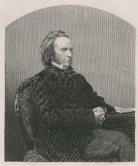 George John Douglas Campbell, 8th Duke of Argyll; engraved by D.J. Pound from a photograph, from ''T