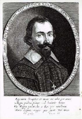 A portrait of Claude Maugis, advisor to Marie de Medici