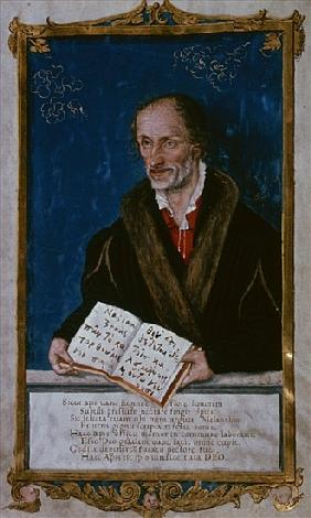 Portrait of Philipp Melanchthon