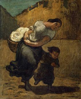 Daumier / The burden