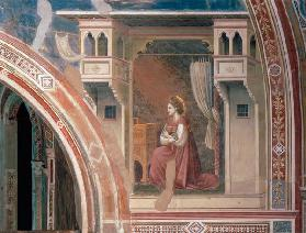 Mary of the Annunciation / Giotto