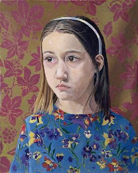 Painting of a Young Girl, 1993 (oil on canvas)
