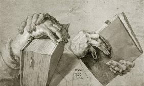 A.D�rer / Study of hands