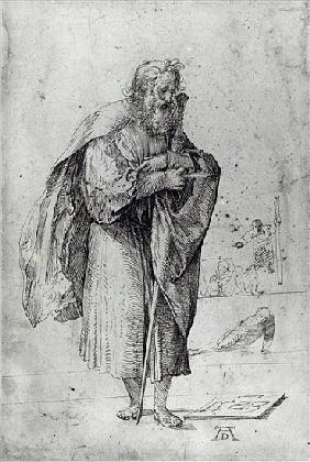 St. Paul, 1523 (pen and ink on paper)