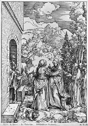 The Visitation, from the ''Life of the Virgin'' series, c.1503