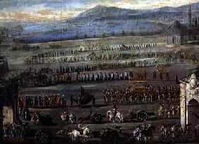 The Funeral Procession for the Doge F. Morosini