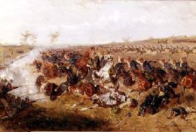 Hussars at the Battle of Schweinsschedl, Austria, 29th July 1866