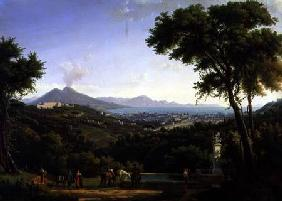 View of Naples from Capodimonte