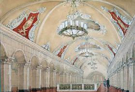 Project for the Komsomolskaya Metro station