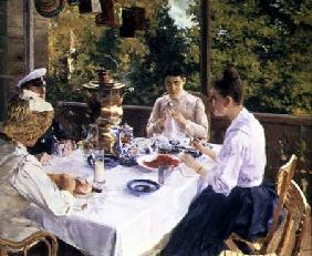 At the Tea-Table