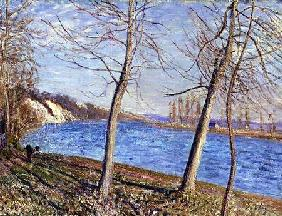 The Banks of the River at Veneux