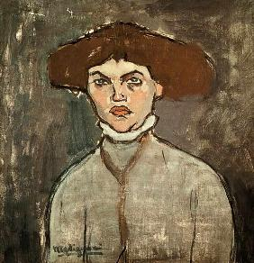 Modigliani / Portrait of Young Woman