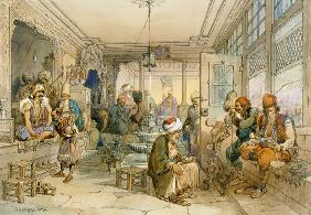 A Coffee House, Constantinople