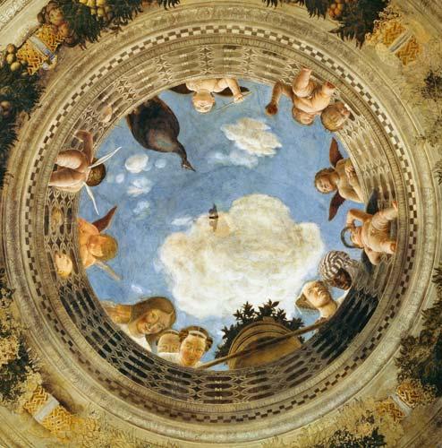 Circolo d 39 arte e cucina imperator andrea mantegna la for Camera picta mantegna