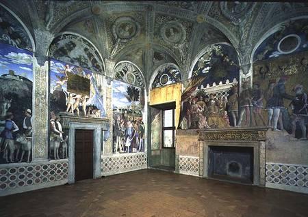 The camera degli sposi or camera picta w andrea mantegna for Mantegna camera degli sposi palazzo ducale