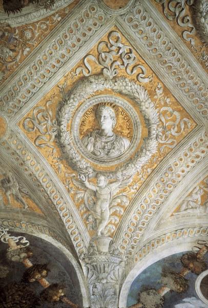 Camera degli sposi augsutus andrea mantegna for Andrea mantegna camera degli sposi