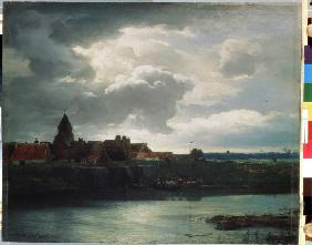 Landscape with a river