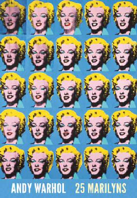 Twenty-Five Colored Marilyns