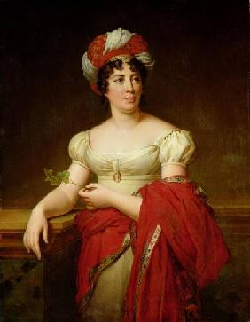 Portrait of Madame de Stael (1766-1817)