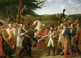 Napoleon Bonaparte (1769-1821) Receiving the Keys of Vienna at the Schloss Schonbrunn, 13th November
