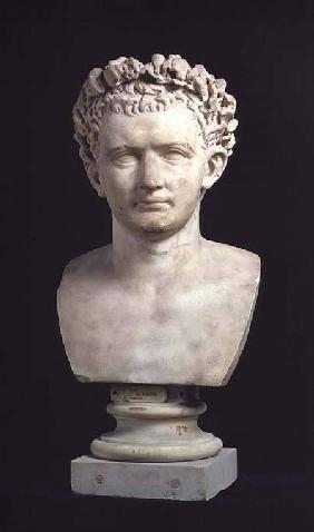 Portrait bust of Emperor Nero (37-68)