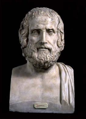 Portrait Bust of Euripides (c.484-406 BC) second half of the 4th century BC