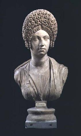 Portrait bust of a lady, Roman,Flavian Dynasty