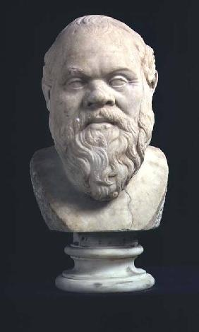 Portrait bust of Socrates (469-339 BC)