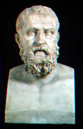Portrait bust of Solon (c.640-559 BC)