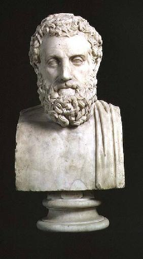 Portrait bust of Sophocles (c.496-405 BC)