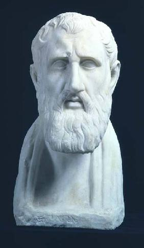 Portrait bust of Zeno of Citium (334-262 BC)