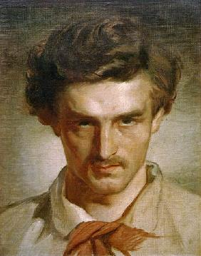 Anselm Feuerbach, Self-portrait as youth