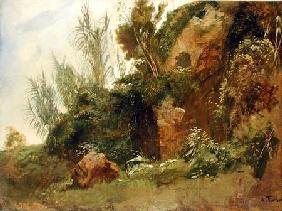 Landscape Study at Baths of Caracalla