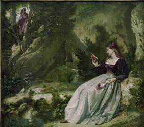 Petrarch, Laura in Vaucluse