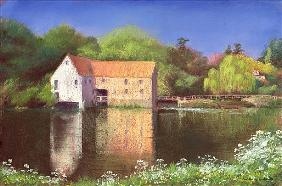 Springtime at the Mill, 2004 (pastel on paper)