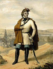 Portrait of the Polish freedom fighter Tadeusz Kosciuszko