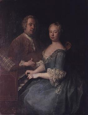 Karl-Heinrich Graun and his wife Anna-Louise, c.1735
